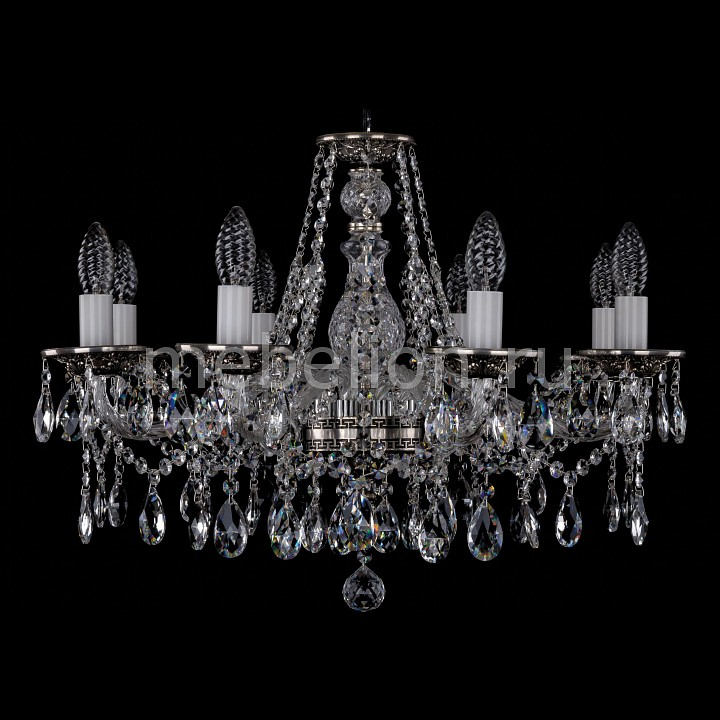 Подвесная люстра Bohemia Ivele Crystal 1613/8/220/NB 1613