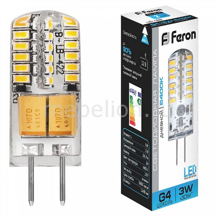 Лампа светодиодная Feron LB-422 G4 220В 3Вт 6400K 25533