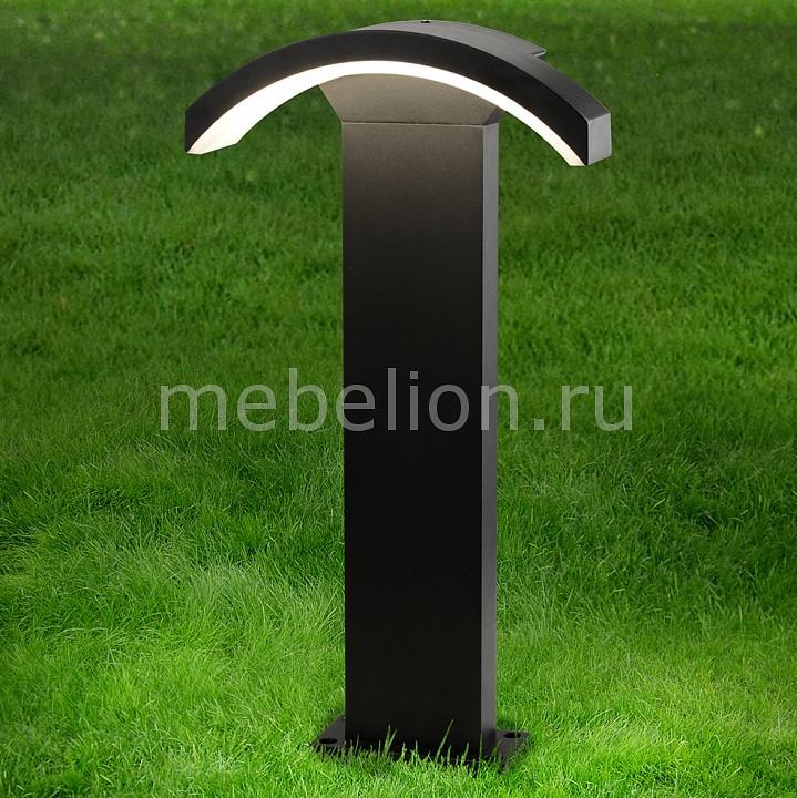 Наземный низкий светильник Elektrostandard TECHNO 1677 LED Asteria F черный elektrostandard altair f черный