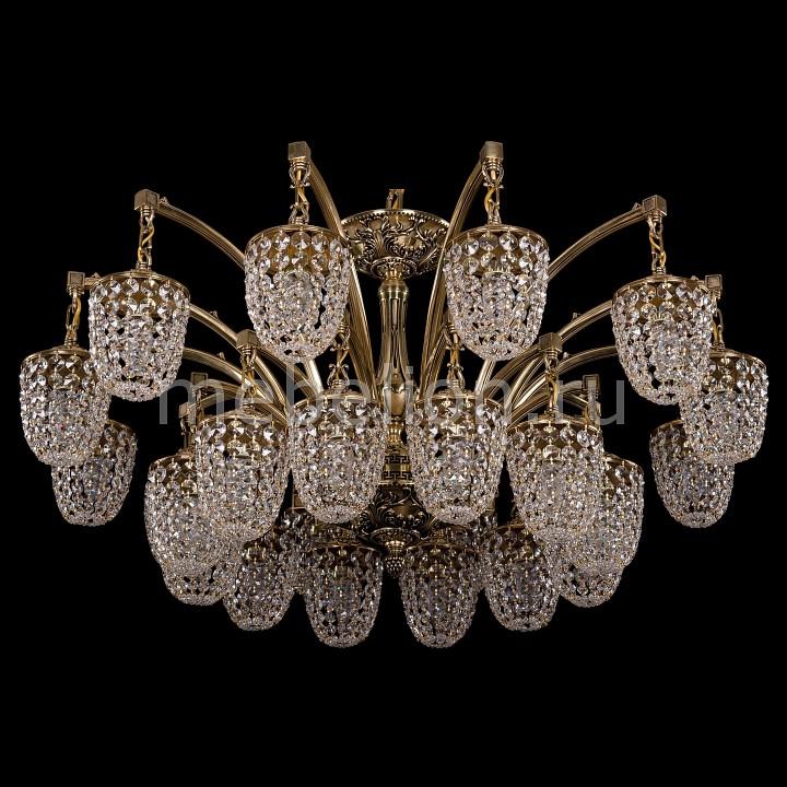 Подвесная люстра Bohemia Ivele Crystal 1772/24/342/GB 1772