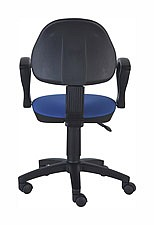 Кресло компьютерное CH-318AXN темно-синее