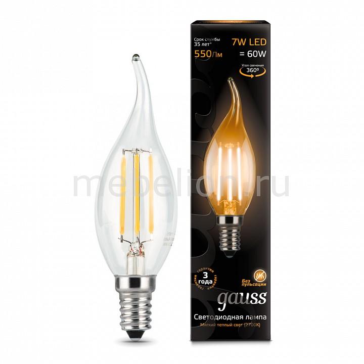 Лампа светодиодная Gauss 1048 E14 150-265В 7Вт 2700K 104801107