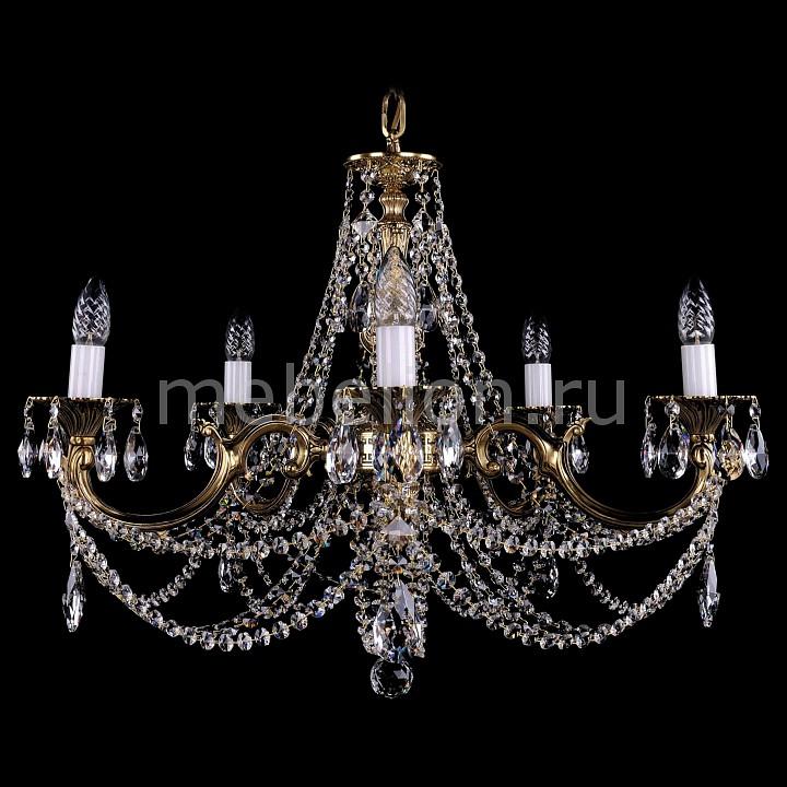 Подвесная люстра Bohemia Ivele Crystal 1702/5/C/GB 1702