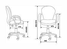 Кресло компьютерное CH-G687AXSN черное