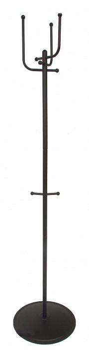 Вешалка напольная Мебелик Вешалка-стойка Пико 5 черный вешалка для одежды tatkraft karta напольная цвет белый черный высота 173 см