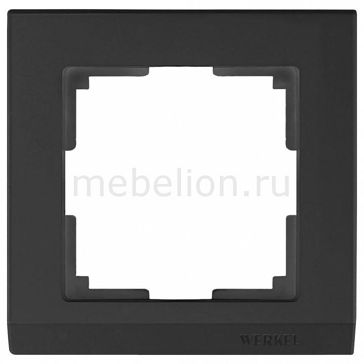 Рамка на 1 пост Werkel Stark WL04-Frame-01-black stark s103 black