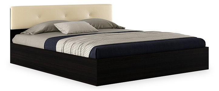 Кровать двуспальная Наша мебель Виктория ЭКО-П с матрасом 2000х1800 кровати двуспальные belabedding кровать двуспальная с матрасом уэльс 2000x1800