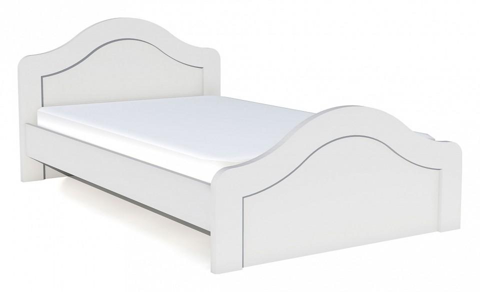 Кровать полутораспальная Сильва Прованс НМ 008.09М шкаф комбинированный прованс нм 009 23