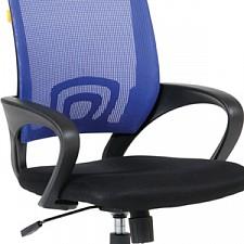 Кресло компьютерное Chairman 696 синий/черный