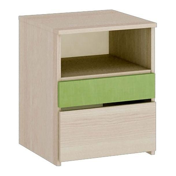 Тумбочка Мебель Трия Киви ПМ-139.13 ясень коимбра/панареа шкаф для белья мебель трия индиго пм 145 11 ясень коимбра навигатор