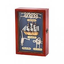 Ключница АРТИ-М (17х25 см) Парусник 271-006