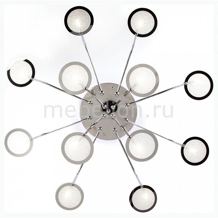 Накладной светильник Eurosvet 80109/12 хром/синий+фиолетовый