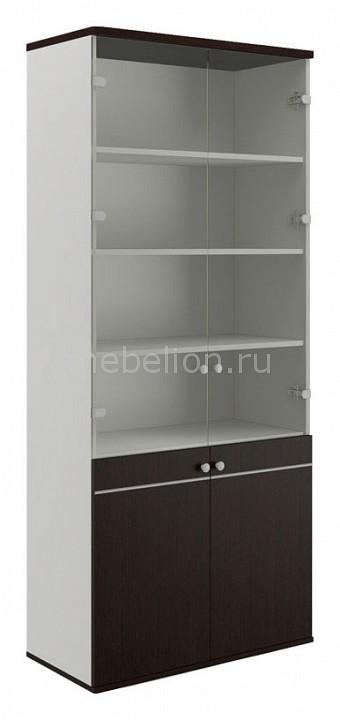 Шкаф книжный Pointex Свифт-7 комплект офисной мебели pointex свифт к3 темный