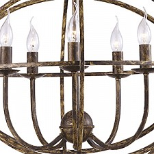 Подвесная люстра Arte Lamp A1703SP-5BR Kopernik