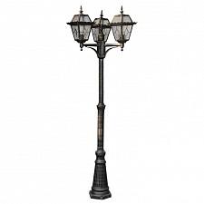 Фонарный столб Arte Lamp A1357PA-3BS Paris