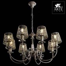 Подвесная люстра Arte Lamp A5468LM-8WG Ragnatela