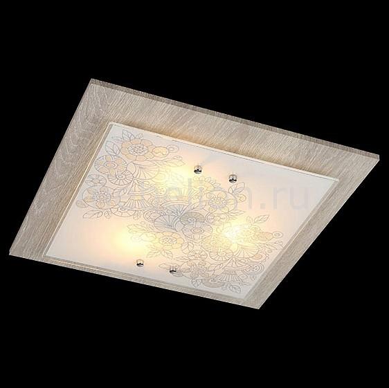 Накладной светильник Муза 40067/3 хром/светлое дерево
