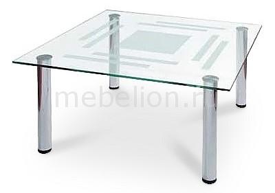 Стол журнальный Мебелик Робер 8М металлик