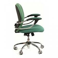 Кресло компьютерное Chairman 686 зеленый/хром, черный