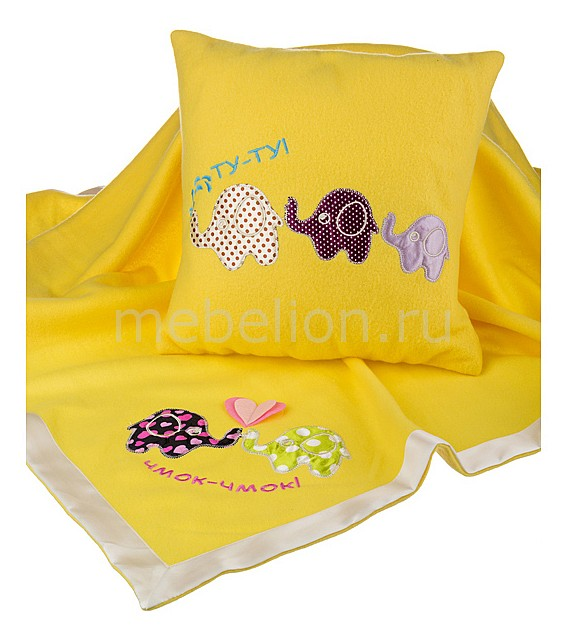 Полотенце детское (100х100 см) Слоники 703-579-1