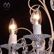 Подвесная люстра MW-Light 301015206 Свеча 4
