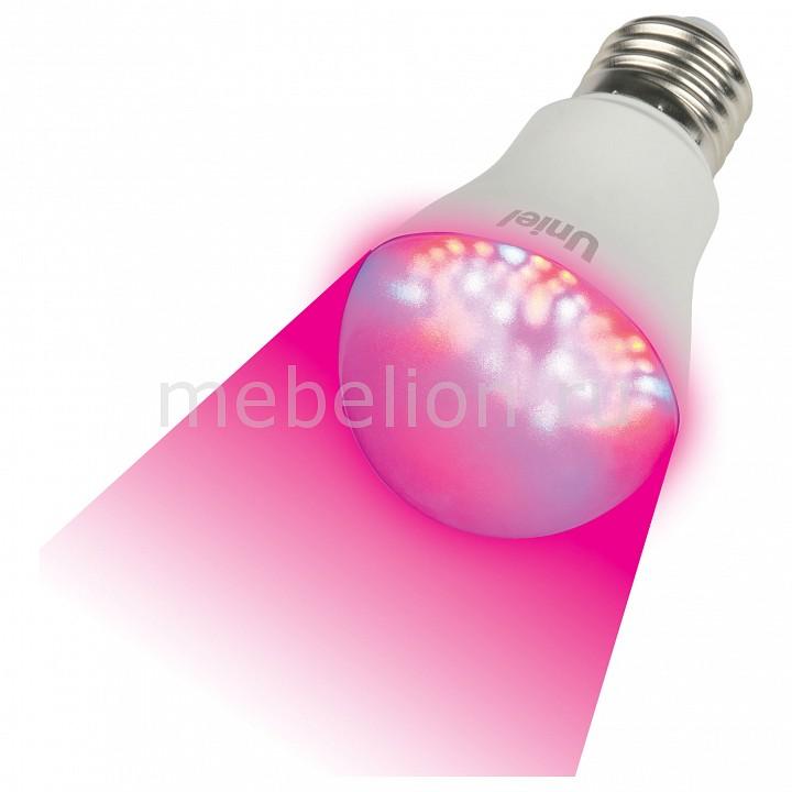 Лампа светодиодная Uniel E27 175-250В 9Вт красный LED-A60-9W/SP/E27/CL ALM01WH картон
