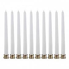 Набор из 10 свечей декоративных 348-377