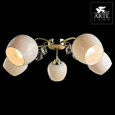 Потолочная люстра Arte Lamp A9549PL-5GO Millo