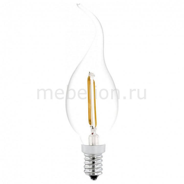 Лампа светодиодная Eglo CF37 E14 2Вт 2700K 11493 комплект из 2 ламп светодиодных eglo led лампы g4 2700k 220 240в 1 2вт 11551