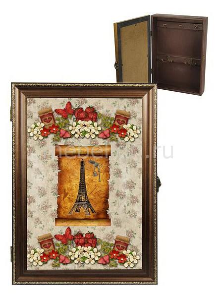 Ключница Акита (24х34 см) Эйфелева башня 312-30
