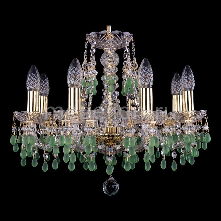 Подвесная люстра Bohemia Ivele Crystal 1410/8/160/G/V5001 1410