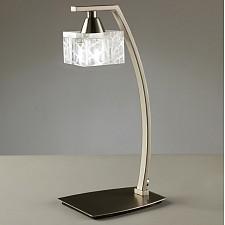 Настольная лампа декоративная Zen Satin Nickel 1447