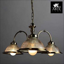 Подвесная люстра Arte Lamp A9366LM-3AB American Diner