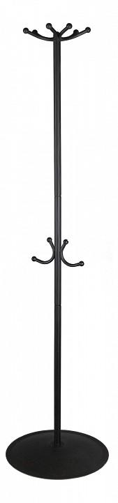 Вешалка напольная Мебелик Вешалка-стойка Пико 16 черный вешалка для одежды tatkraft karta напольная цвет белый черный высота 173 см