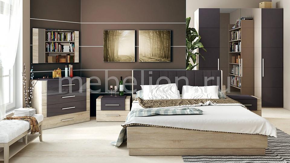 Гарнитур для спальни Мебель Трия Ларго Люкс ГН-181.014 cтенка для гостиной трия нео пм 106 00 дуб сонома