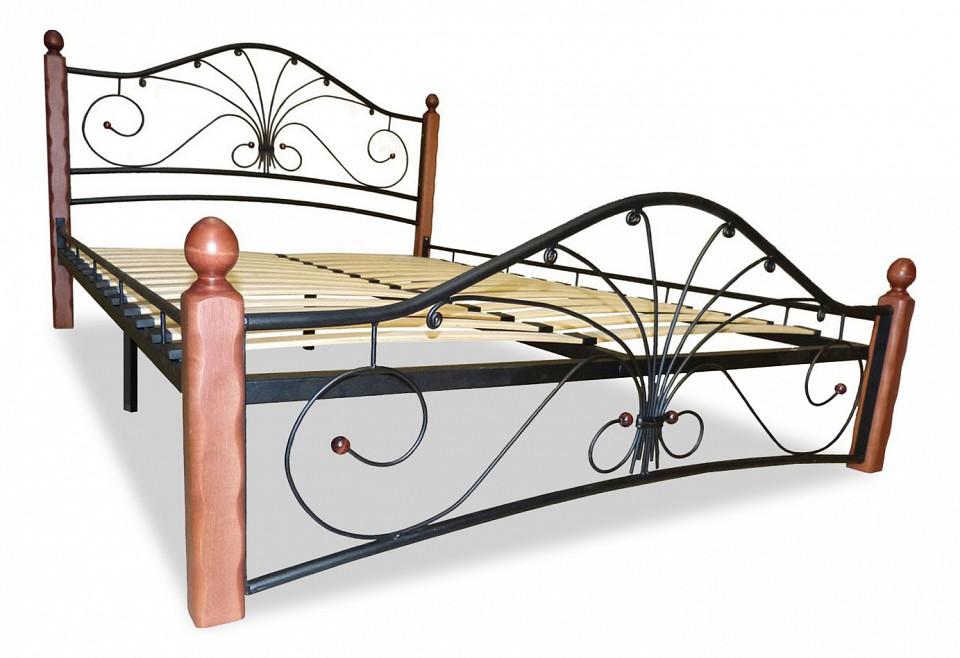 Кровать полутораспальная Мебвилл Фортуна 1 2000х1200