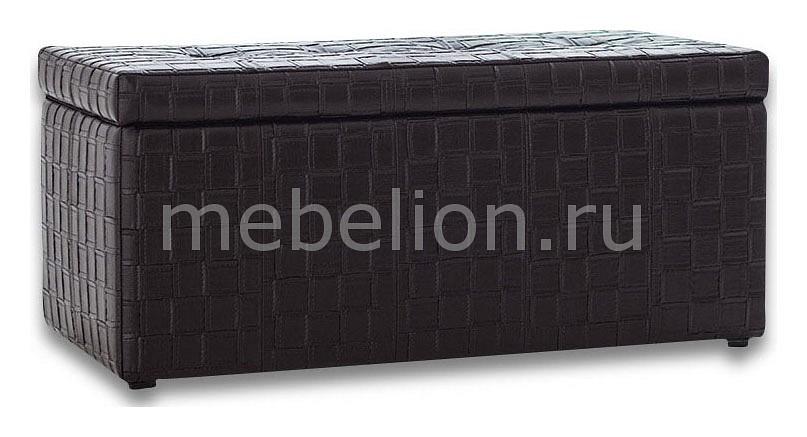 Банкетка-сундук Лонг TETRA черная  журнальный столик с фотопечатью