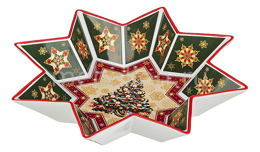 Салатник (32 см) Christmas collection 586-006