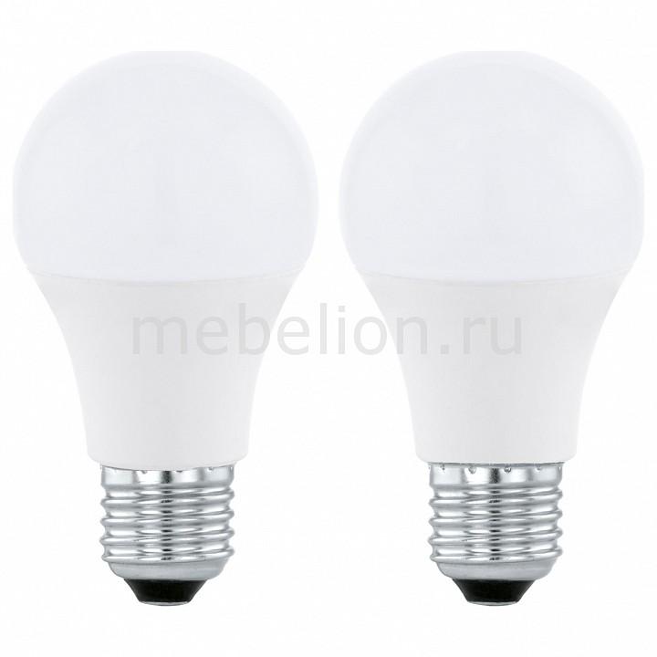 Комплект из 2 ламп светодиодных [поставляется по 10 штук] Eglo Комплект из 2 ламп светодиодных A60 Valuepack E27 60Вт 4000K 11544 [поставляется по 10 штук] комплект из 2 ламп светодиодных eglo led лампы g4 2700k 220 240в 1 2вт 11551