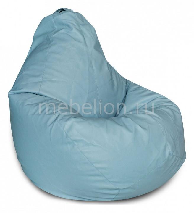 Кресло-мешок Dreambag Голубая ЭкоКожа XL цена