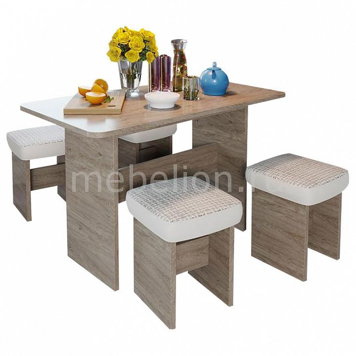 Набор обеденный Мебель Трия Дублин стол обеденный трия норд дуб сонома трюфель