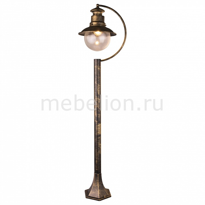 Наземный высокий светильник Arte Lamp Amsterdam A1523PA-1BN
