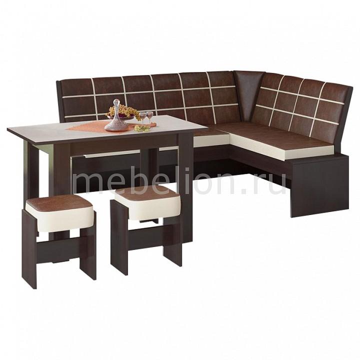 Уголок кухонный Мебель Трия Кантри Т1 уголок кухонный мебель трия диван кантри т1 исп 2 венге темно коричневый