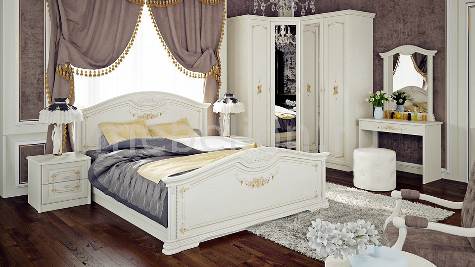 Гарнитур для спальни Мебель Трия Лючия ГН-235.001 карниз лючия