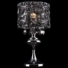 Настольная лампа Eurosvet декоративная 3400/1T хром/дымчатый хрусталь Strotskis