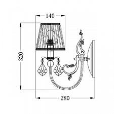 Бра Maytoni ARM301-01-R Elegant 13