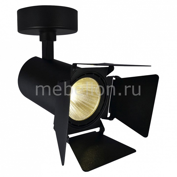 Светильник на штанге Arte Lamp Track Lights A6709AP-1BK Track Lights A6709AP-1BK tiffany mediterranean style peacock natural shell ceiling lights lustres night light led lamp floor bar home lighting