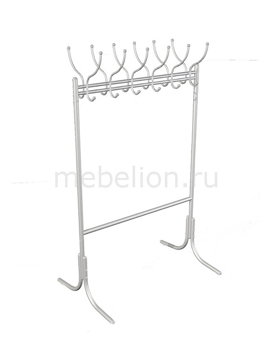 Вешалка напольная Мебелик Вешалка гардеробная М-11 алюминий фото