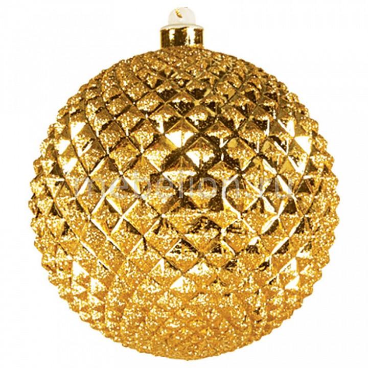 Елочный шар (13 см) рельефный 502-200