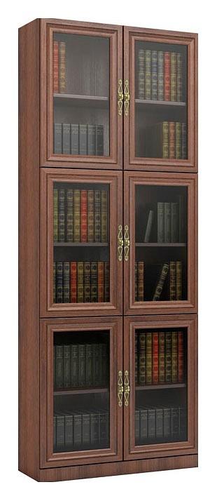 Шкаф книжный ВМФ Карлос-24